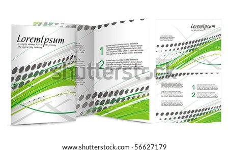 brochure design for night club, vector illustartion.
