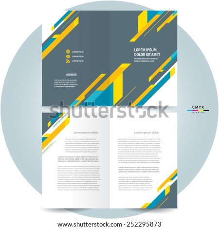 creative booklet template free vector download 26 209 free vector