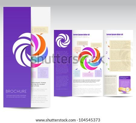 Fabulous free brochure vector pics