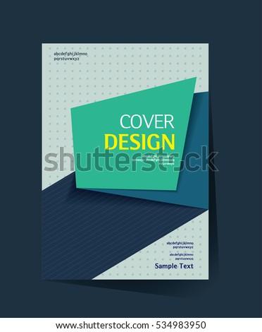 brochure design vector template