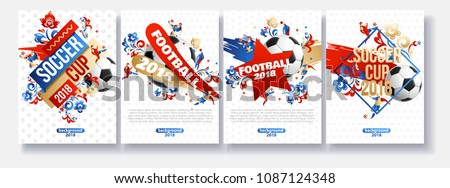 brochure football background place for text eps 10
