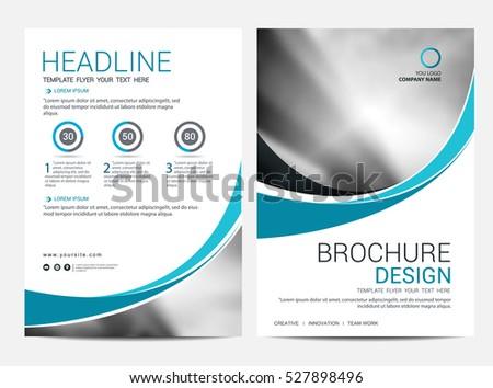 Booklet Brochure Template Design Presentation Cover Layout