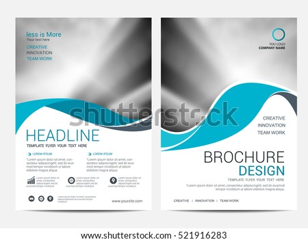 Brochure Flyer Template Design Download Free Vector Art Stock - Brochure flyer templates