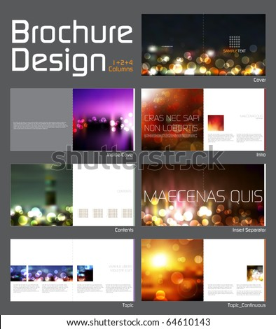 brochure design templates. Layout Design Template