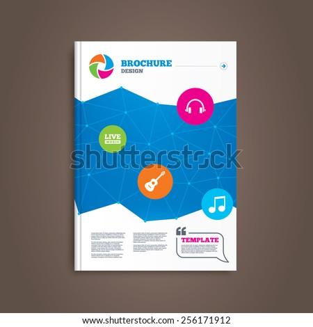 brochure or flyer design