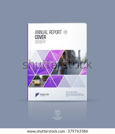 brochure template  cover design