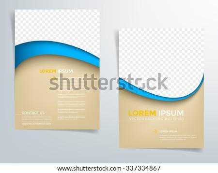 brochure template flyer