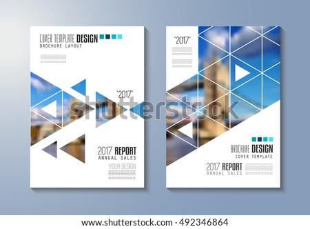elegant company brochure template cover design - Download Free ...