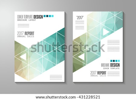 Low Poly Design For Flyer Template Download Free Vector Art Stock
