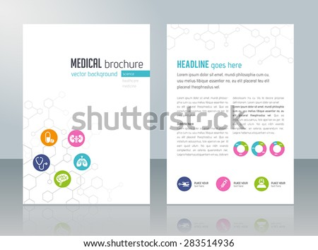 brochure template   medical