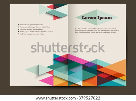 Free Retro Magazine Layout Vector  Download Free Vector Art Stock