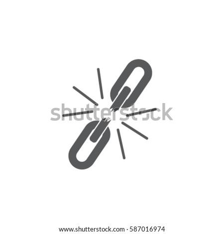 broken chain  icon  unlink