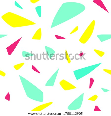 broken glass vector  abstract