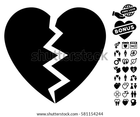 Broken Heart Download Free Vector Art Stock Graphics Images
