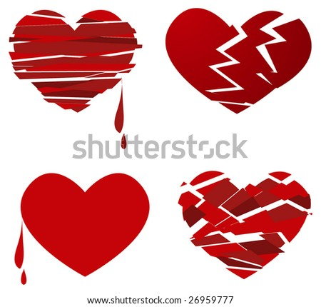 broken hearts set