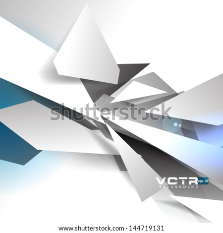 Stock Photo Broken Pieces Abstract Background