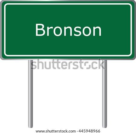 bronson   florida   road sign