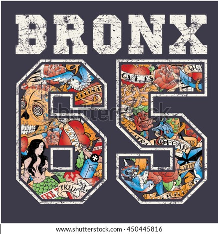 bronx new york   artwork for