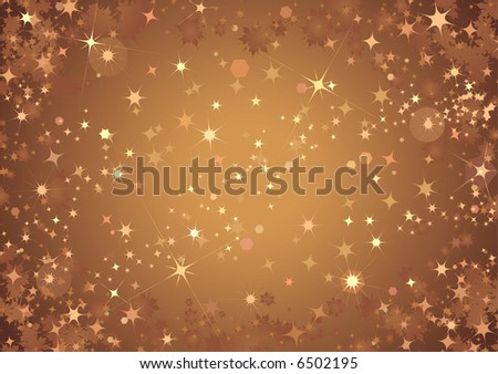 Bronze Sparkle Background