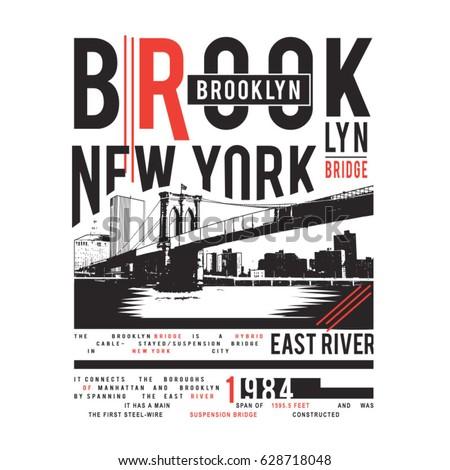 brooklyn bridge illustration  ...