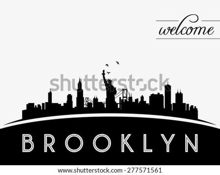 brooklyn new york usa skyline