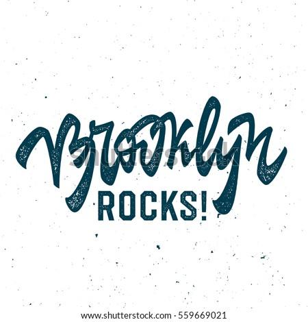 brooklyn rocks  vintage t shirt
