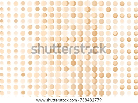 stock-vector-brown-abstract-background-with-dots-vector-illustration