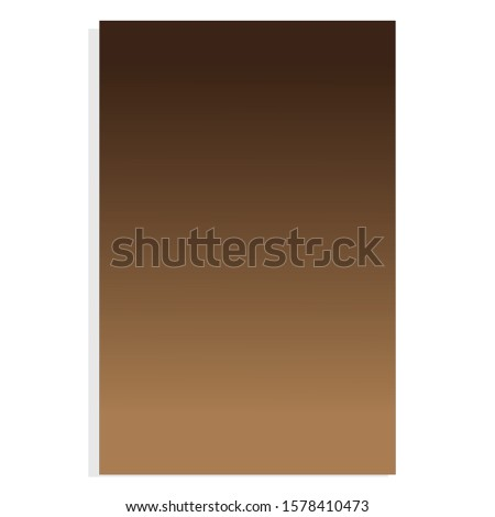 Brown and Light Brown, Gradient Background