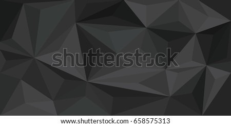Brown background in Low Poly style, abstract chocolate, trigonometric pattern, modern dark background.