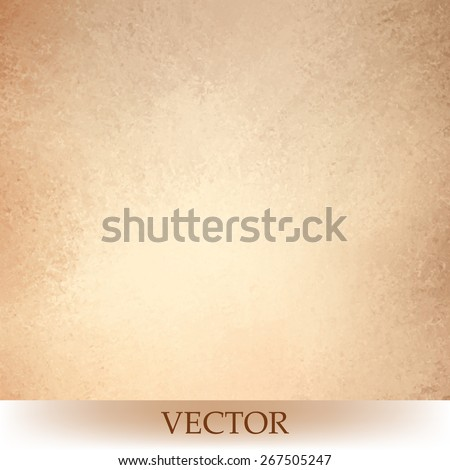 stock-vector-brown-beige-background-vector-light-orange-or-tan-color-design-vintage-grunge-texture