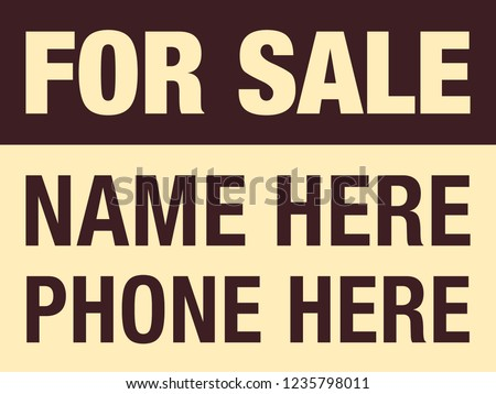 yard sale signs download free vector art stock graphics images