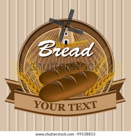 Brown Bread label