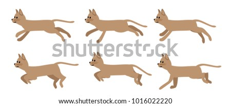 brown funny cat sprites for