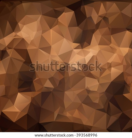 stock-vector-brown-polygonal-mosaic-background-vector-illustration-business