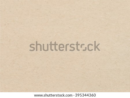 Brown recycled paper texture background, paper vector - Vector EPS 10