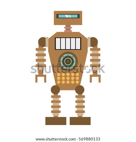 brown robot technology future