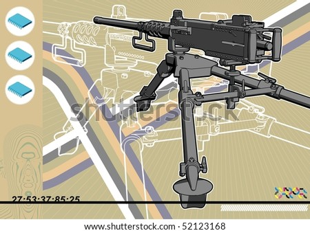 browning machine gun schematic
