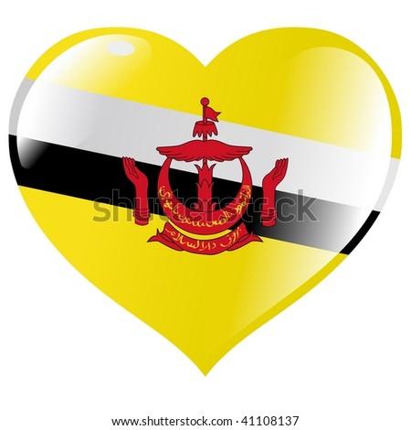 Brunei in heart