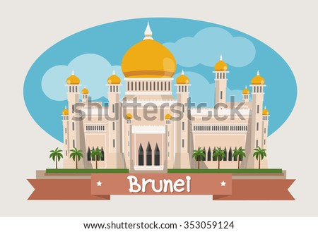 brunei landmark  the grand