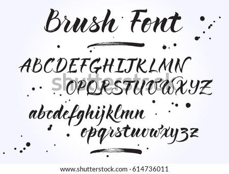 Handwriting Brush Free Photoshop Brushes At Brusheezy