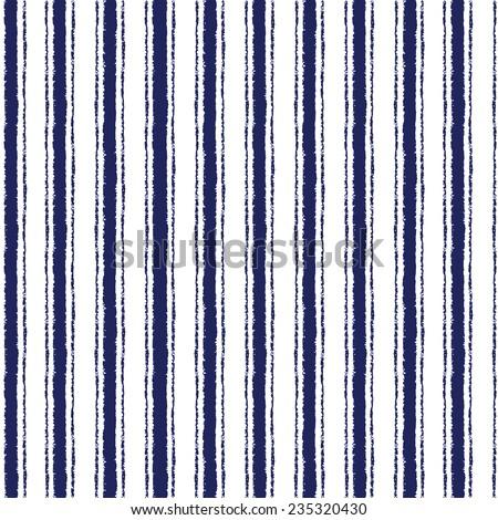 Brush stripes vector seamless pattern #235320430