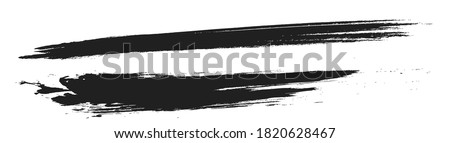 Brush touch material, ink splash, handwritten texture, texture material, rough lines, ink lines, Japanese style, Asian taste vector illustration