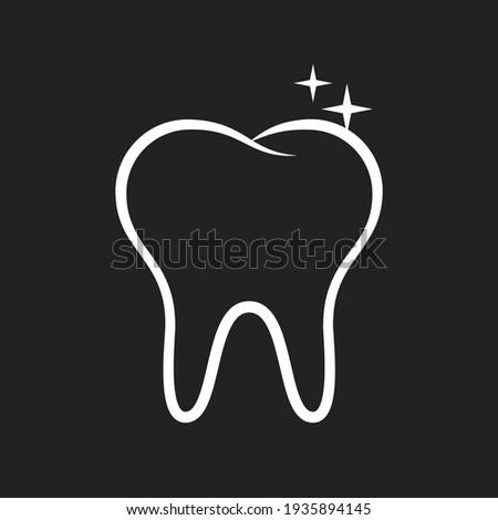 Brush Your Teeth, Teeth Brushing, Dental Brushing, Dental Hygiene, Hygienist, Dental Office Logo, Dental School Graphic, Vector Illustration Background Stock photo ©