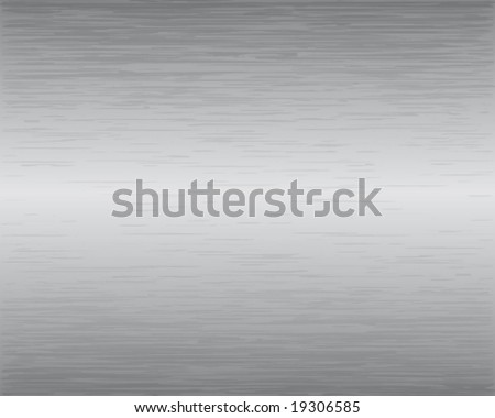 Brushed Metal Texture Vector Illustration