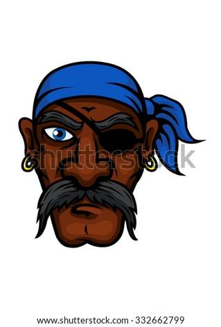 brutal african american pirate
