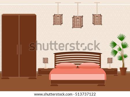 brutal spartan style bedroom
