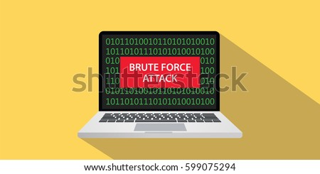 brute force attack concept