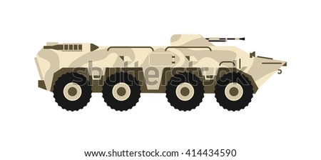 btr tank personal army carrier