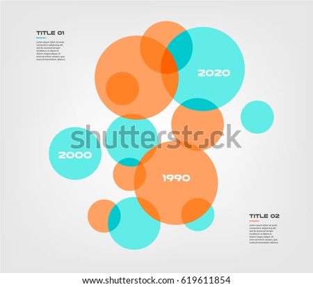 Red venn diagram download free vector art stock graphics images bubble chart with elements venn diagram infographics for three circle design vector and marketing can be ccuart Gallery
