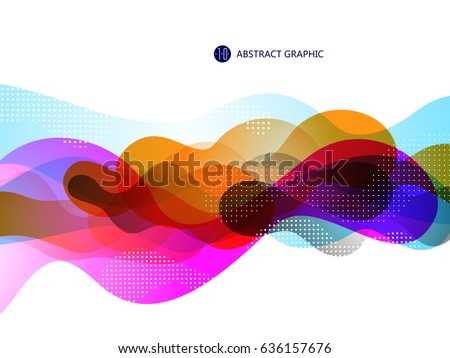 bubble like abstract graphic